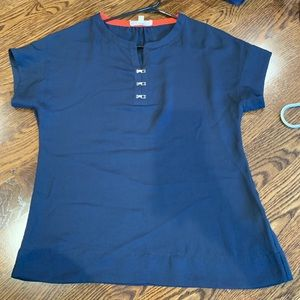Banana Republic blue blouse/top size XS